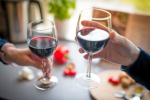 Alexandria VA Periodontist | A Glass of Red Wine Keeps the Dentist Away